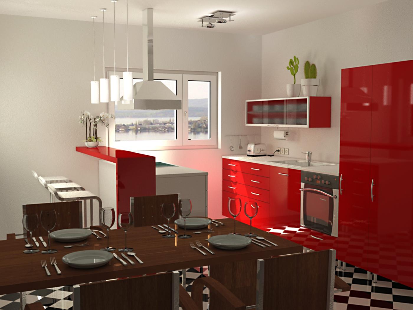 Visualisierung Küche FX Design
