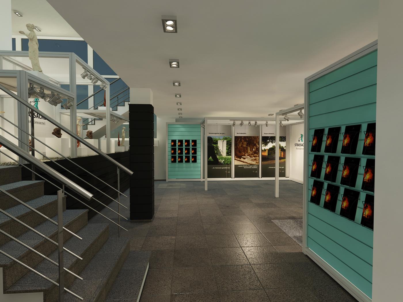 Visualisierung Showroom FX Design