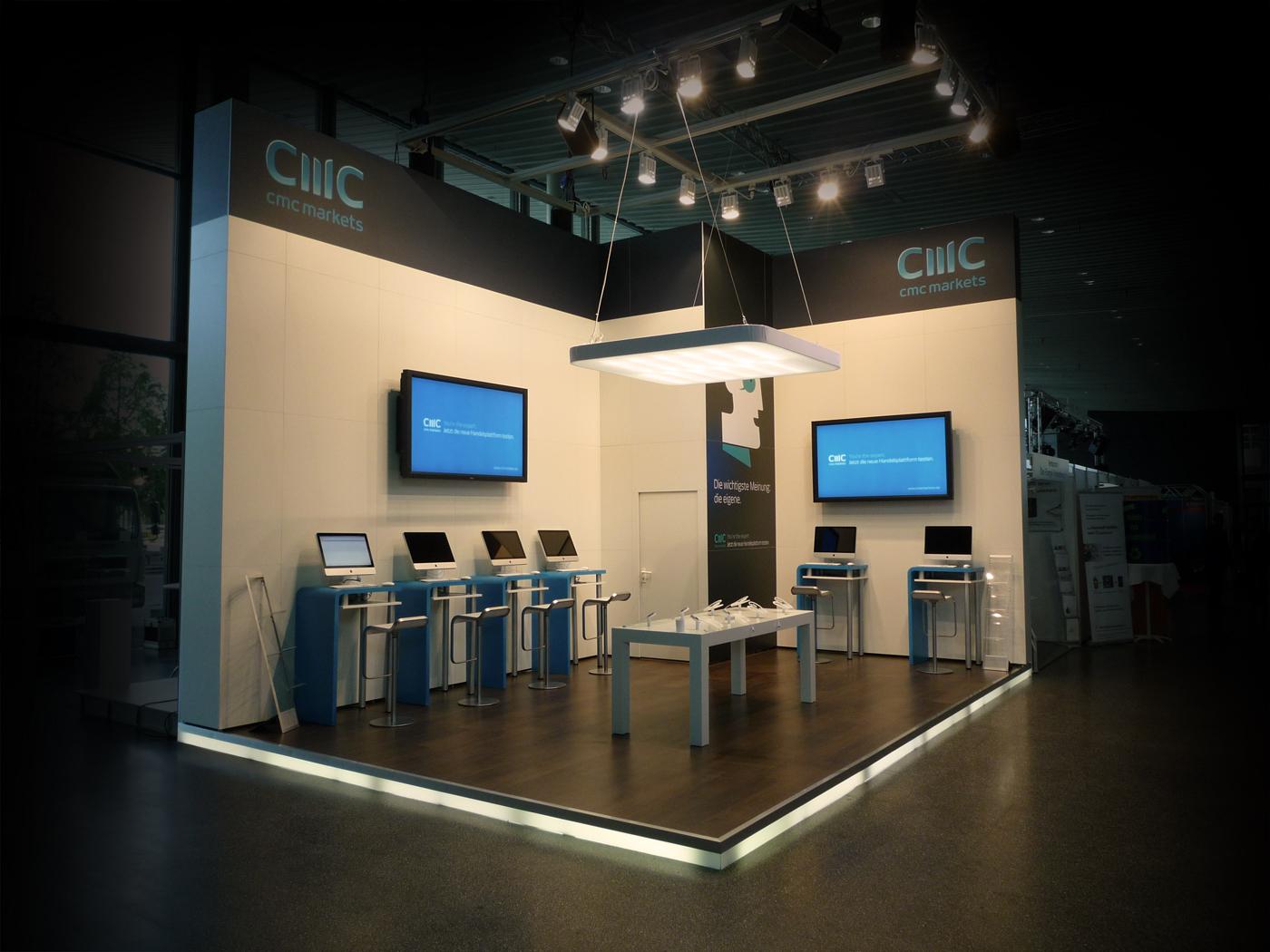 FX Design - Messestand - CMC Markets Anlegertage 2011