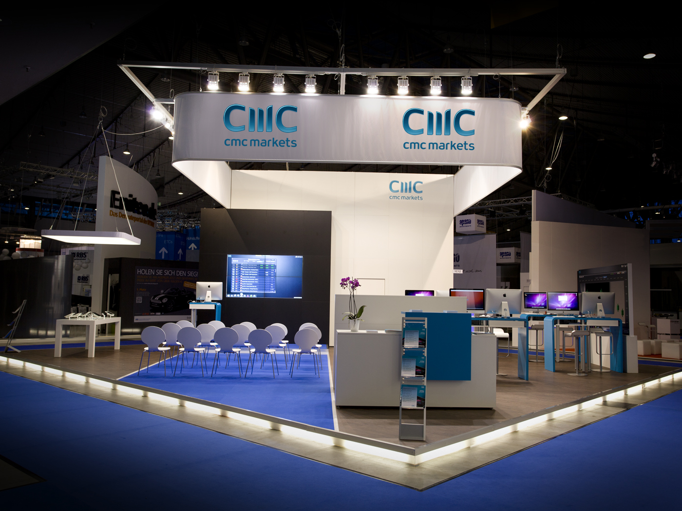 FX Design - Messestand - CMC Markets Invest 2012