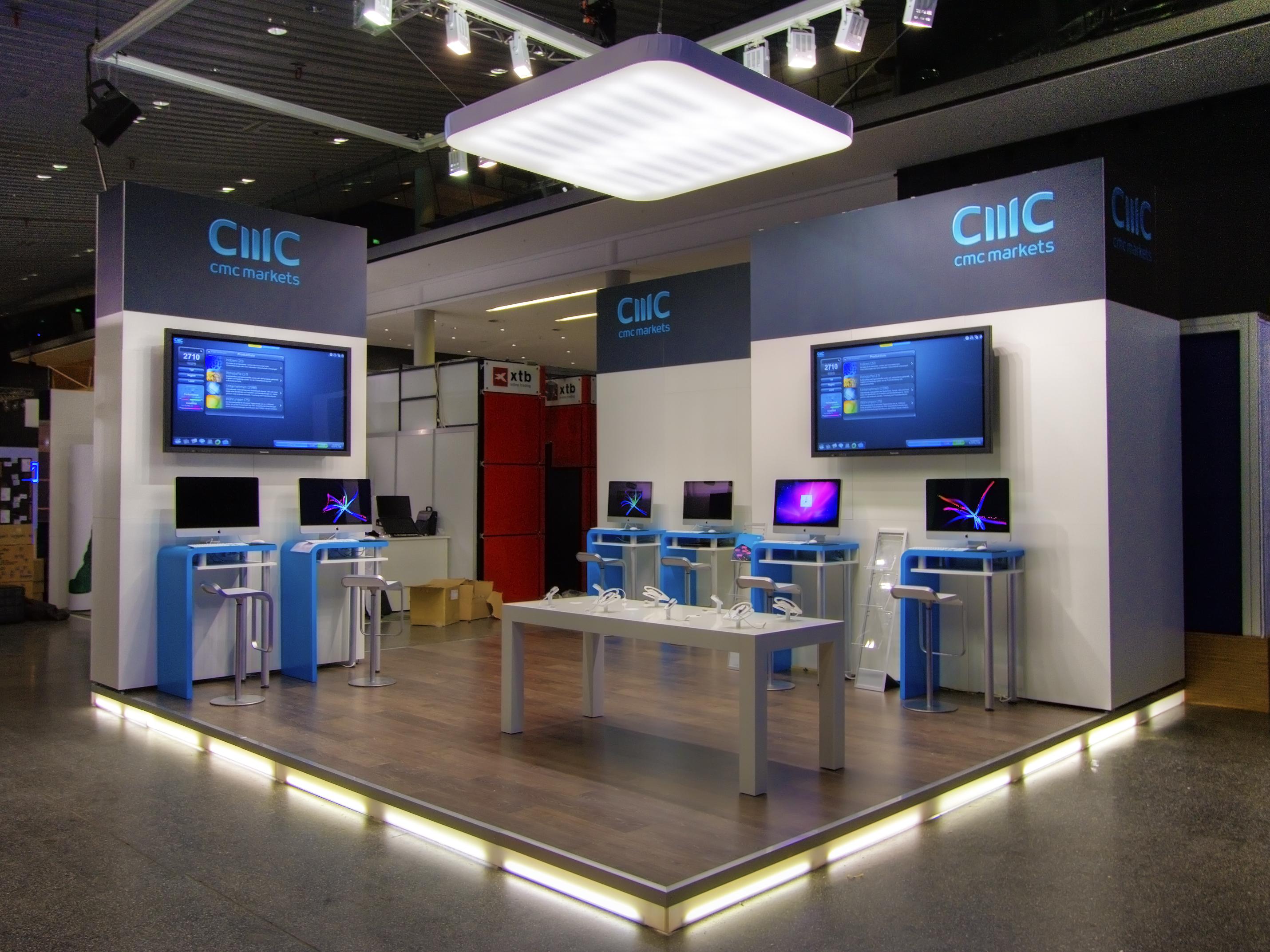FX Design - Messestand - CMC Markets WOT 2011