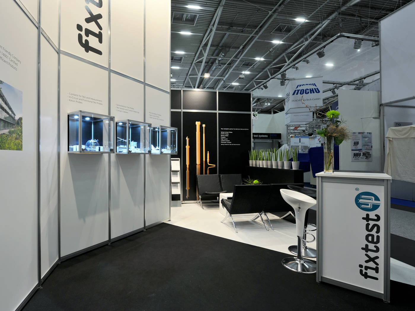 FX Design - Messestand - Fixtest Productronica 2011
