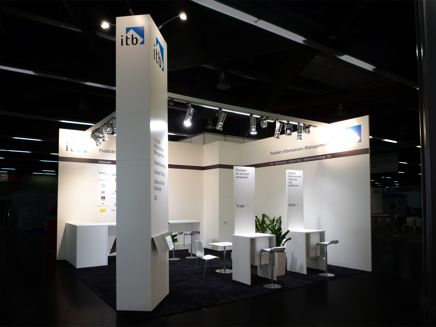 FX Design - Messestand - ITB e procure 2011