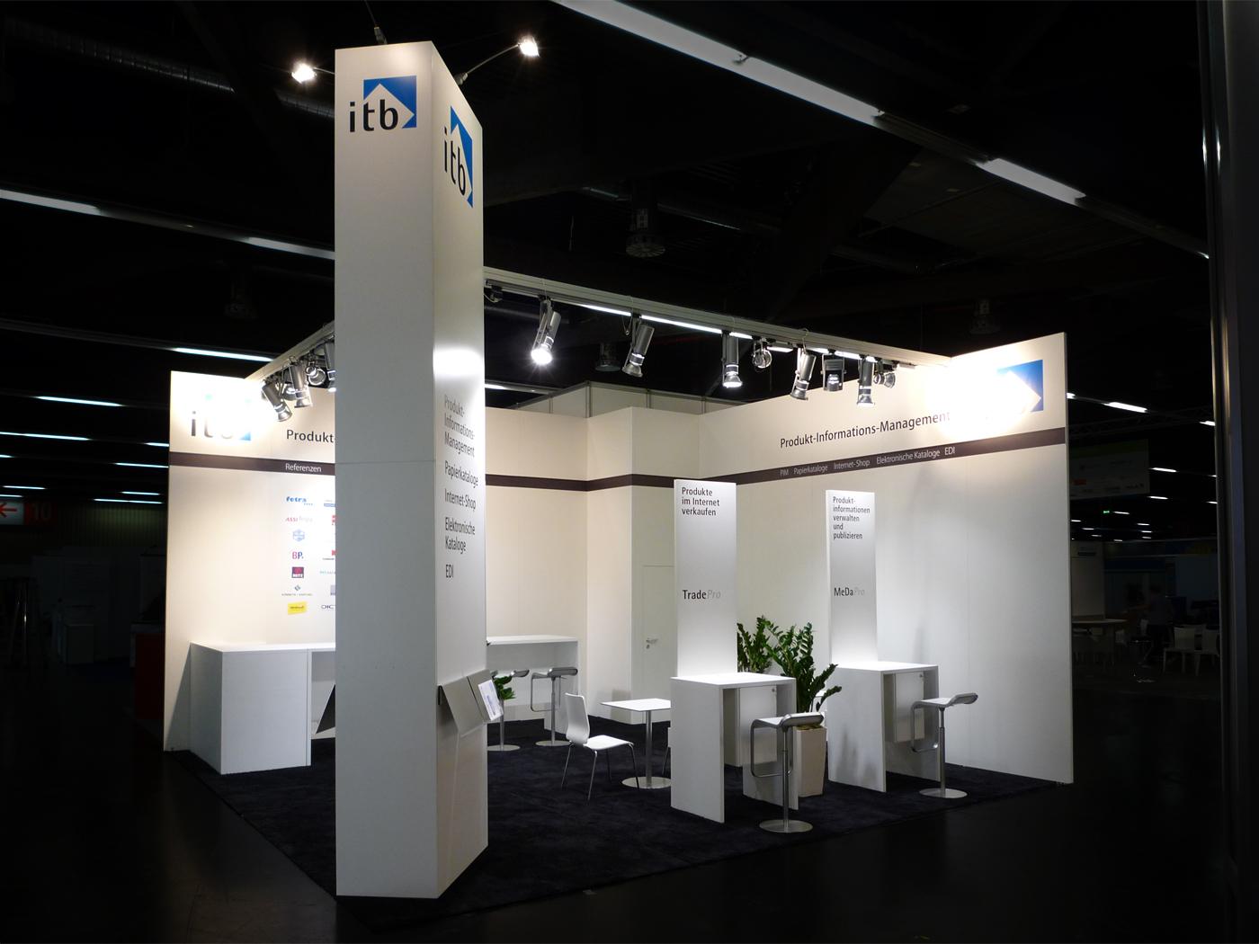 FX Design - Messestand - ITB e procure 2011