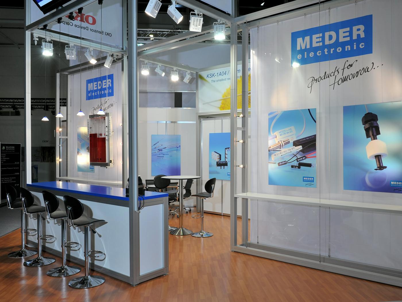 FX Design - Messestand - Meder electronica 2010
