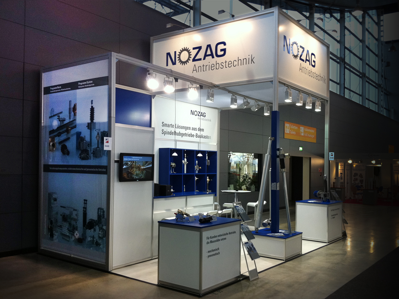 FX Design - Messestand - Nozag Motek 2011