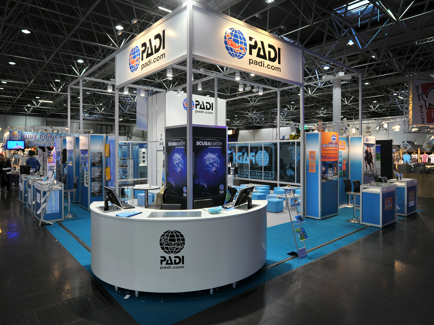 FX Design - Messestand - Padi Boot 2012