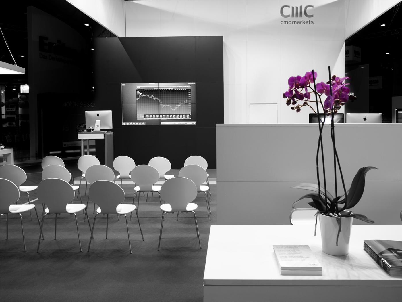 FX Design - Messestand - CMC Markets Invest 2012